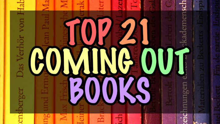 Bored of Chillin' in the Closet? Why not check out these Coming Out Books!