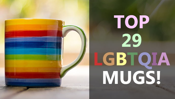 Get your drink on with these cool LGBTQIA Mugs!